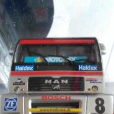 Slot Cars: FLY CAR MODEL CAMION TRUCK 44 L MAN TR 1400 CON LUCES NURBURGRING FIA ETRC 01,FUNCIONA EN SCALEXTRIC. Lote 53103220