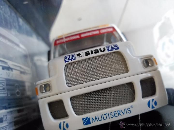 SLOT CAR MODEL CAMION TRUCK 4L SISU SL 250 FIA ETRC 95 . CON LUCES. (Juguetes - Slot Cars - Fly)