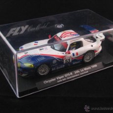 Slot Cars: FLY - CHRYSLER VIPER GTS-R 24H LE MANS '98 BELL-DONOHUE-DRUDI REF. A84. Lote 53177203