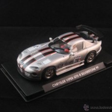 Slot Cars: FLY - DODGE VIPER GTS R SILVERSTONE 99 REF. A-81. Lote 53317420