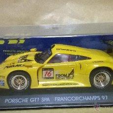 Slot Cars: SLOT SCX FLY PORSCHE GTI SPA FRANCORCHAMPS 97. Lote 54474416