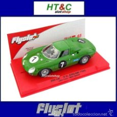 Slot Cars: FLYSLOT ONLY 75 UNIDADES FERRARI 250 LM #7 9 HS KYALAMI 1965 LOVE / SPENCE FLY 053304B. Lote 56802270