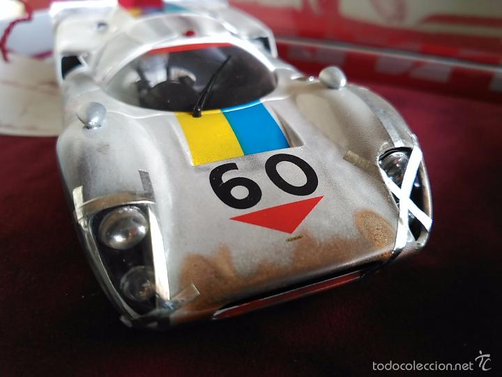FLY CAR MODEL LOLA T70 MKIIIB CHEQUERED FLAG ACCIDENTADO. IMPRESIONANTE. NUEVO. (Juguetes - Slot Cars - Fly)