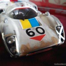 Slot Cars: FLY CAR MODEL LOLA T70 MKIIIB CHEQUERED FLAG ACCIDENTADO. IMPRESIONANTE. NUEVO.. Lote 57404184