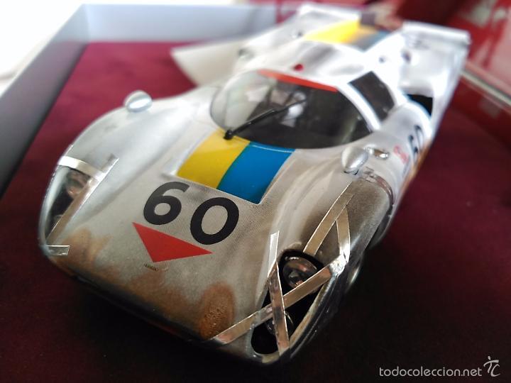 Slot Cars: FLY CAR MODEL LOLA T70 MKIIIB CHEQUERED FLAG ACCIDENTADO. IMPRESIONANTE. NUEVO. - Foto 4 - 57404184