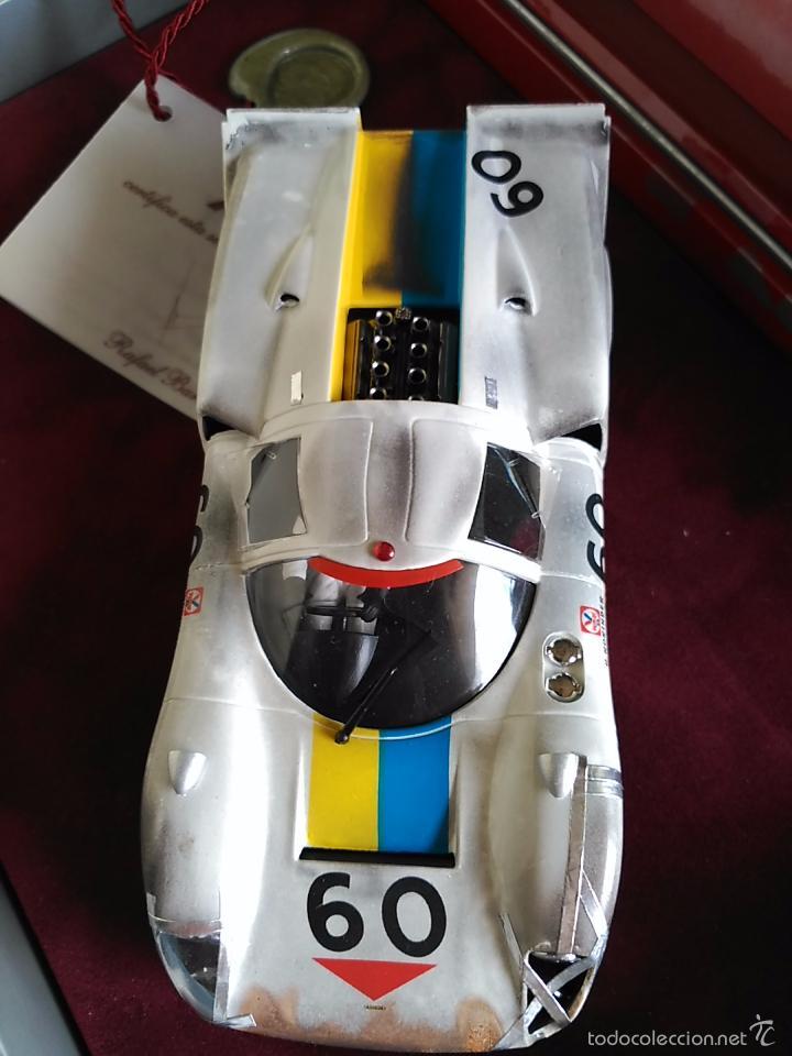 Slot Cars: FLY CAR MODEL LOLA T70 MKIIIB CHEQUERED FLAG ACCIDENTADO. IMPRESIONANTE. NUEVO. - Foto 5 - 57404184