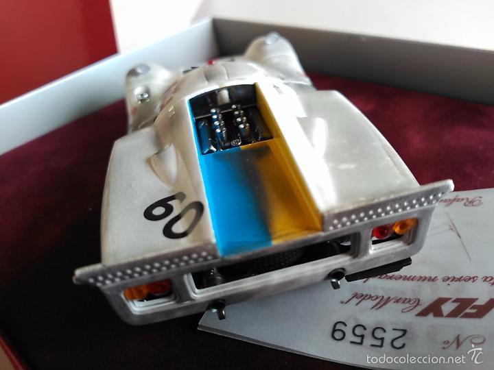 Slot Cars: FLY CAR MODEL LOLA T70 MKIIIB CHEQUERED FLAG ACCIDENTADO. IMPRESIONANTE. NUEVO. - Foto 6 - 57404184