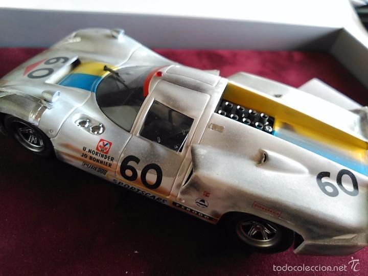 Slot Cars: FLY CAR MODEL LOLA T70 MKIIIB CHEQUERED FLAG ACCIDENTADO. IMPRESIONANTE. NUEVO. - Foto 7 - 57404184