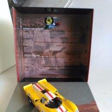 Slot Cars: FLY CAR MODEL LOLA T70 MKIII CAJA 2 DE SCUDERIA RODRIGUEZ REF99129 FUNCIONA EN SCALEXTRIC. Lote 57606878