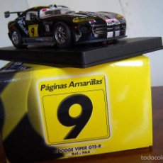 Slot Cars: FLY DODGE VIPER GTS-R PAGINAS AMARILLAS REF:PA4 CAMPEONATO ESPAÑA GT 2001. Lote 57609362