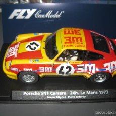 Slot Cars: A-933.- 88156-PORSCHE 911 CARRERA 3M 24 H. LE MANS 1973 DE FLY. Lote 137126201