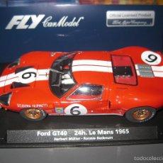 Slot Cars: OFERTA - 88167. FORD GT40 24 HORAS DE LE MANS 65 DE FLY. Lote 141342358