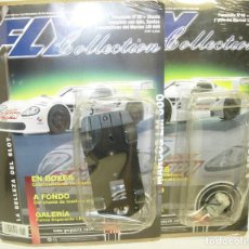 Slot Cars: MARCOS LM 600,CHASIS + MOTOR, FLY COLLECTION, COLECCIONABLE CON FASCÍCULOS 39-40. Lote 62214668