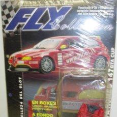 Slot Cars: ALFA ROMEO 147 GTA CUP,HABITÁCULO, FLY COLLECTION, COLECCIONABLE CON FASCÍCULO 30. Lote 62214928