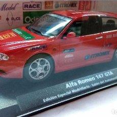 Slot Cars: ALFA 147 GTA EDICION ESPECIAL MADRIDIARIO SALON DEL AUTOMOVIL MADRID 2002 FLY E-741 REF.96046. Lote 63614415