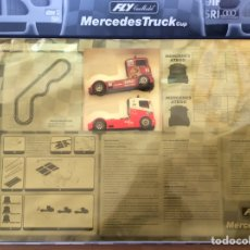 Slot Cars: CIRCUITO CAMIONES FLY MERCEDES TRUCK CUP. Lote 64121283