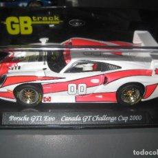 Slot Cars: GB72 - PORSCHE 911 GT1 Nº00 CANADA 2000 DE FLY. Lote 65946278