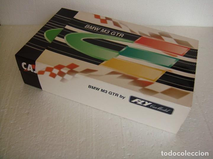 Slot Cars: FLY BMW M3 GTR EDICION ESPECIAL CAJA DE EXTREMADURA REF. 96049 E-291 - Foto 5 - 67108097