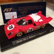 Slot Cars: FLY. FERRARI 512S BERLINETTA. 3º DAYTONA 1970. REF. C21. Lote 67774533