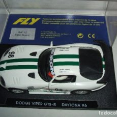 Slot Cars: DODGE VIPER DE FLY REF.-A1 MUY BLANCO. Lote 72033507
