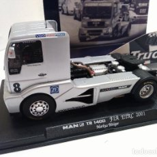 Slot Cars: FLY CAR MODEL CAMION MAN TR1400 TRUCK REF TRUCK 46. VÁLIDO EN SCALEXTRIC. Lote 74208915