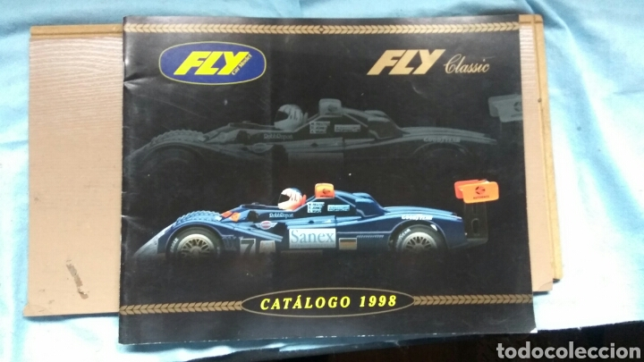 Slot Cars: CATÁLOGO FLY SCALEXTRIC 1998 - Foto 1 - 74980995