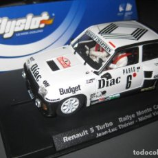 Slot Cars: RENAULT 5 TURBO RALLYE MONTE CARLO 1984 DE FLYSLOT. Lote 140022276