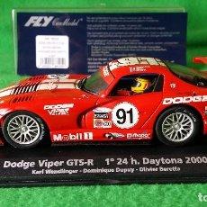 Slot Cars: DODGE VIPER GTS-R 1º 24H DAYTONA WENDLINGER-DUPUY-BERETTA - FLY. Lote 76998817