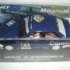 Slot Cars: BMW M3 E30 24H SPA-FRANCORCHAMPS 1988 DE FLY REF.-96092. Lote 77420161