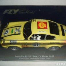 Slot Cars: PORSCHE 911 S 24H LE MANS 1972 DE FLY REF.-88129. Lote 96143912