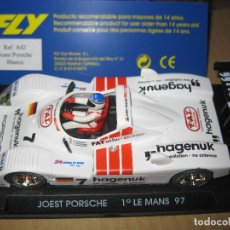 Slot Cars: A-42. PORSCHE JOEST GANADOR DE LE MANS 97 DE FLY. Lote 77571757