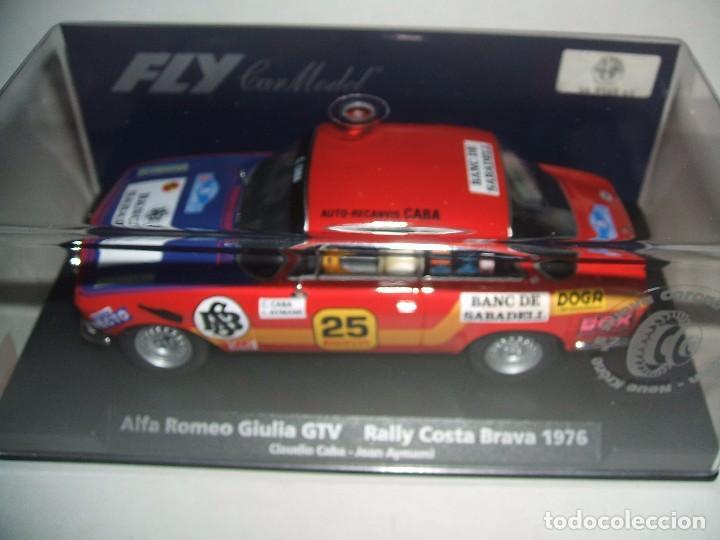 ALFA ROMEO GIULIA RALLY COSTA BRAVA 1976 DE FLY REF.-88127 (Juguetes - Slot Cars - Fly)