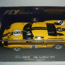 Slot Cars: FORD MK II DE FLY REF.-88085. Lote 77641649