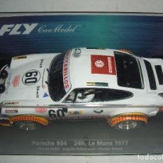 Slot Cars: PORSCHE 934 FLY REF.-88291. Lote 79776073