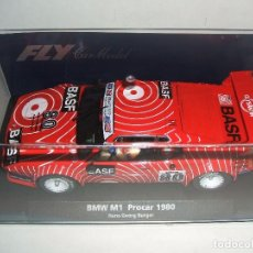 Slot Cars: BMW M1 PROCAR 1980 DE FLY REF.-88171. Lote 80336361