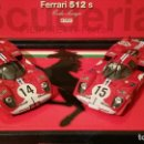 Slot Cars: TEAM FERRARI 512 1970 SCUDERIA FILIPINETTI. FLY SLOT ED. LIMITADA.. Lote 116493267