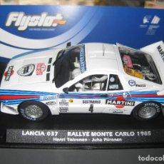 Slot Cars: 046102 - LANCIA 037 MARTINI DE MONTE CARLO 85 DE FLYSLOT. Lote 289689898
