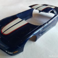 Slot Cars: FLY CAR MODEL ,CARROCERÍA CHEVROLET CORVETTE.. Lote 86443436