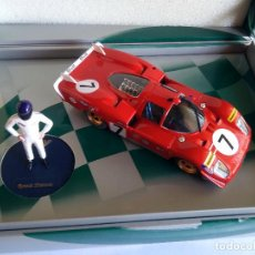 Slot Cars: FLY CAR MODEL CAJA ESPECIAL CAMPEONES RONNIE PETERSON FERRARI 512 S CODA LUNGA +FIGURA. .. Lote 87177708