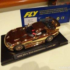 Slot Cars: FLY. VIPER ORO. ED. LTA. PARA ALEMANIA. REF. E-7. Lote 87621800