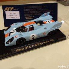 Slot Cars: FLY. PORSCHE 917 K . 1º MONZA 1971. GULF. REF. C-52. Lote 87650712