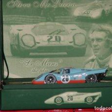 Slot Cars: PORSCHE 917 K 24H LE MANS 1970 ED. ESPECIAL STEVE MQUEEN DE FLY REF. SM3. Lote 87664280