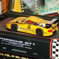 Slot Cars: PORSCHE GT1 DAYTONA 1 DE NOV DE 2003 ED. ESPECIAL STEVE MQUEEN DE FLY REF. SM4. Lote 87664344