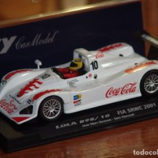 Slot Cars: FLY A-504 - LOLA B98/10 COCA COLA. Lote 87665076