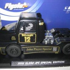 Slot Cars: BLACK FRIDAY - 201305 - CAMION SISU SPECIAL EDITION JOHN PLAYER SPECIAL DE FLYSLOT. Lote 94171877