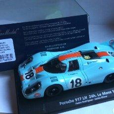Slot Cars: PORSCHE 917 LH 24H LE MANS 1971 FLY REF. 88183. Lote 91747534