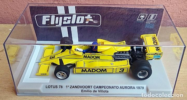 Slot Cars: FLY SLOT 058102 - LOTUS 78 GP AURORA 1979 EMILIO VILLOTA - Foto 2 - 92163990