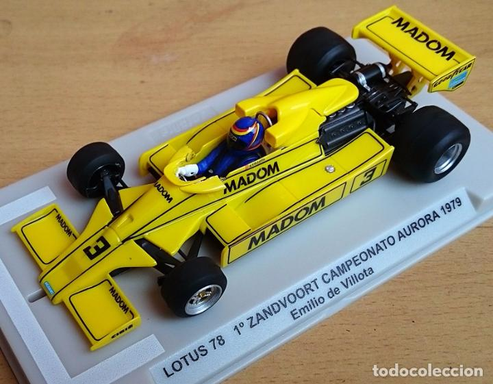 Slot Cars: FLY SLOT 058102 - LOTUS 78 GP AURORA 1979 EMILIO VILLOTA - Foto 3 - 92163990
