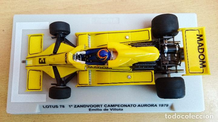 Slot Cars: FLY SLOT 058102 - LOTUS 78 GP AURORA 1979 EMILIO VILLOTA - Foto 5 - 92163990