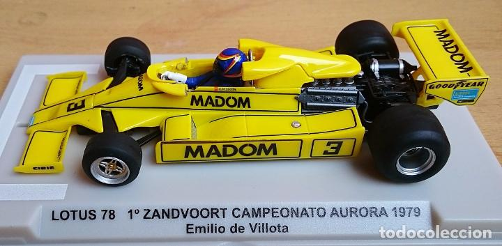 Slot Cars: FLY SLOT 058102 - LOTUS 78 GP AURORA 1979 EMILIO VILLOTA - Foto 7 - 92163990